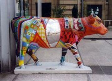 esculturas en fibra de vidrio de animales