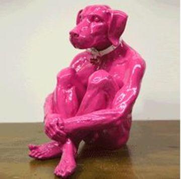 esculturas en fibra de vidrio de arte