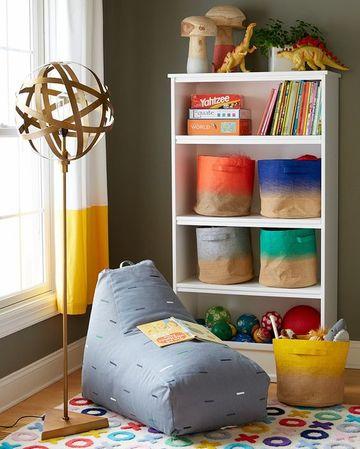 estantes para juguetes de niños sencillos