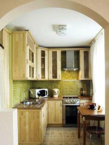 gabinetes para cocina pequeña rusticos