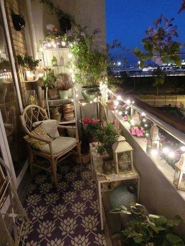 ideas para terrazas pequeñas con plantas