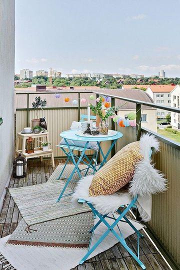 ideas para terrazas pequeñas low cost