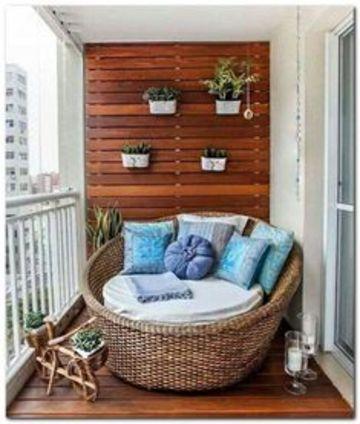 ideas para terrazas pequeñas y comodas