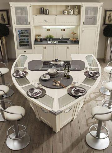 islas para cocinas modernas originales
