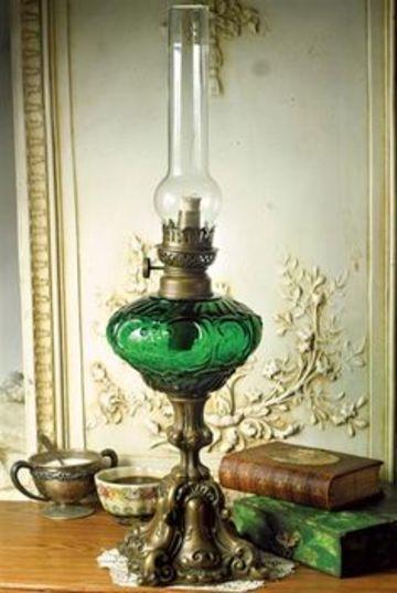 lamparas de aceite antiguas de escritorio