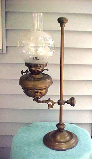 lamparas de petroleo antiguas de estudiantes