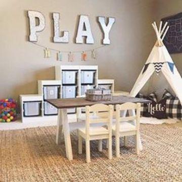 organizador de juguetes para niños minimalistas