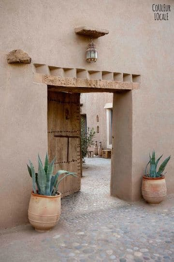 paredes exteriores decoradas estilo marroqui