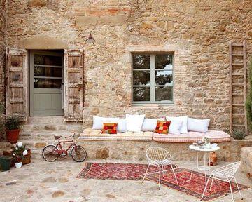 paredes exteriores decoradas rusticas