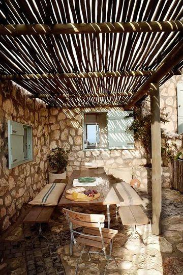 terrazas de madera rusticas mexicana