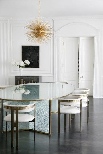 Elegantes diseños para decoracion de comedores modernos