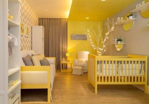 Tendencias de cuartos para bebes modernos