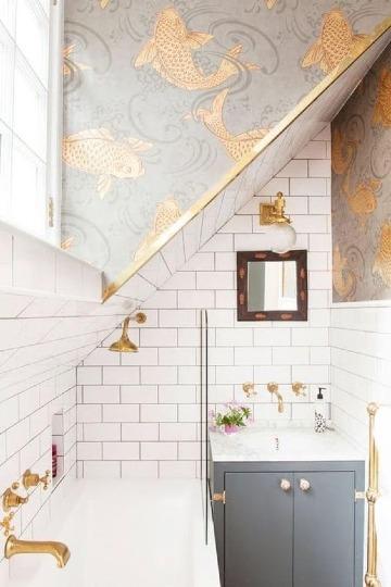 baños en espacios pequeños sencillos