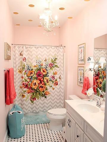 bonitos baños en espacios pequeños