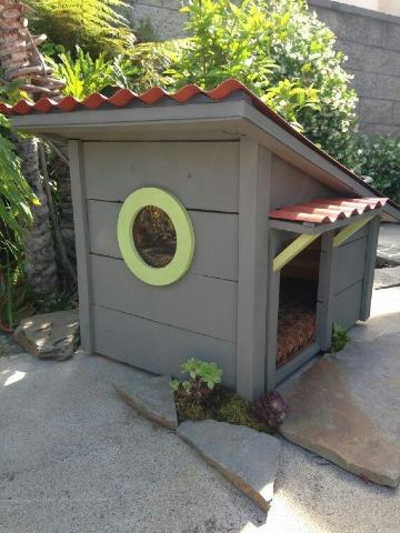 casas para mascotas de madera comodas