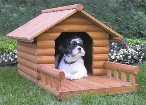 casas para mascotas de madera sencillas
