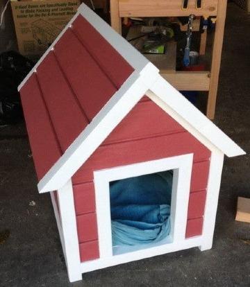 casitas de perros faciles de hacer caseras