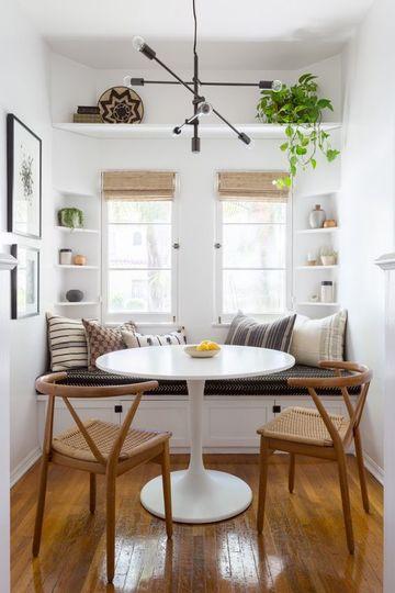 comedores para casas pequeñas que hacen ganar espacio