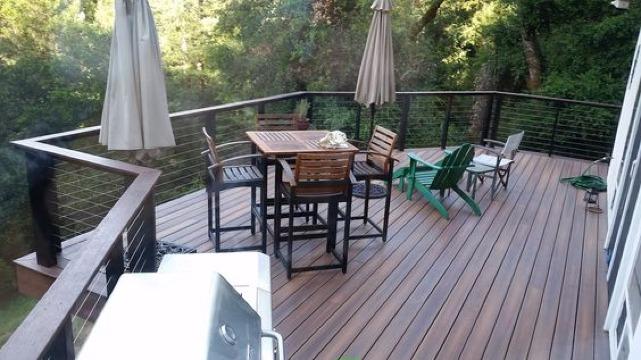 como construir una terraza de madera economica
