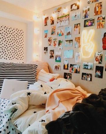 como decorar mi cuarto con fotos mias