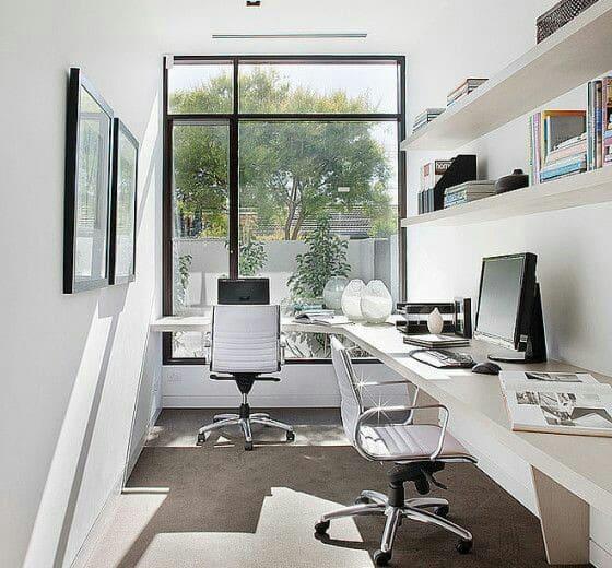 como decorar un cuarto de estudio pequeño para adultos
