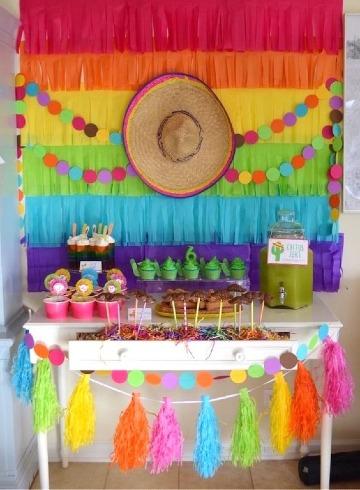 como hacer decoraciones para fiestas patrias