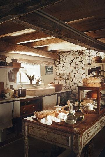 decoracion de cocinas rusticas vintage