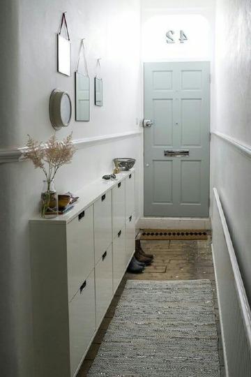 decoracion de entradas y pasillos de casas pequeñas