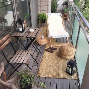 decoracion para terrazas pequeñas bonitas