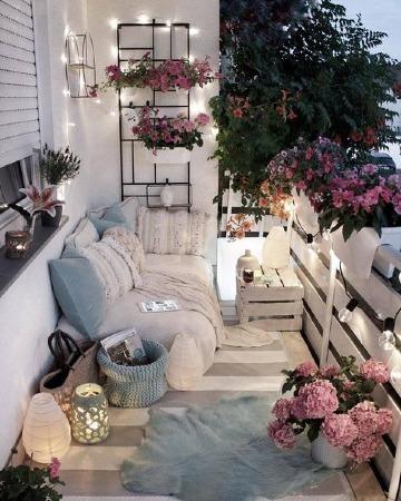 decoracion para terrazas pequeñas con plantas