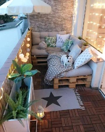 decoracion para terrazas pequeñas modernas