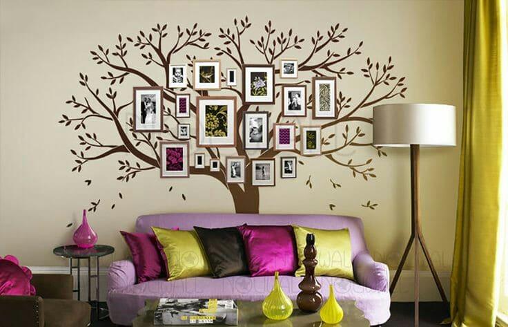 dibujos para decorar paredes de salas originales