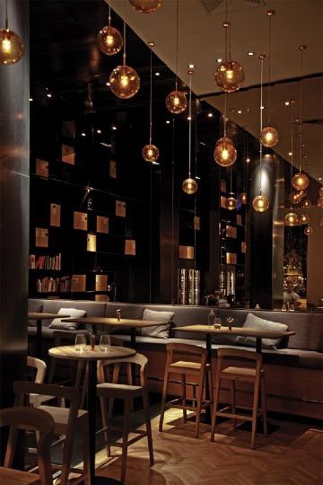 diseños de bares y restaurantes modernos