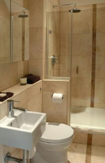 economicas ideas para remodelar baños pequeños