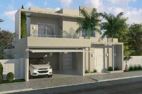 fachadas con balcones modernos y sencillos