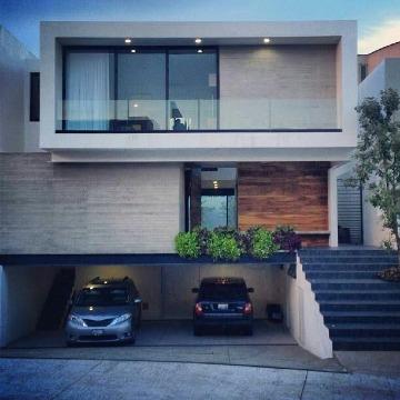 fachadas de casas con balcones modernos de vidrio