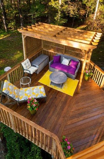 ideas de como construir una terraza de madera