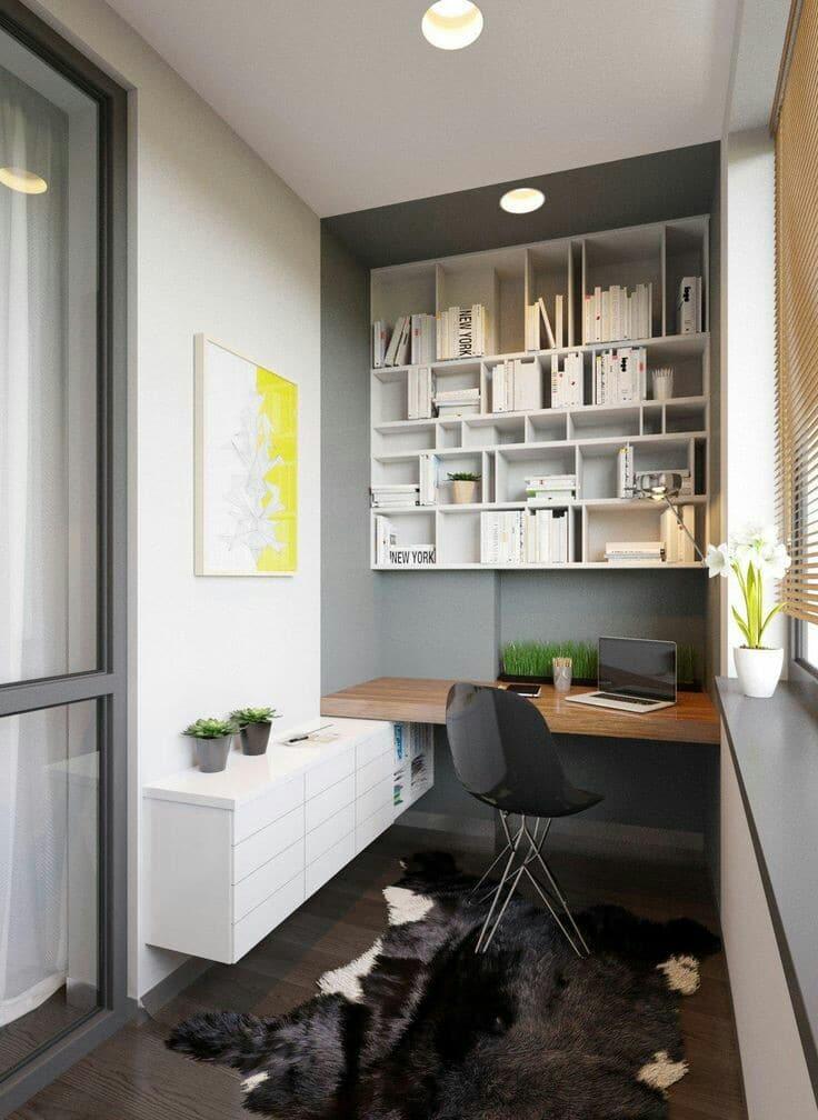 ideas de como decorar un cuarto de estudio pequeño