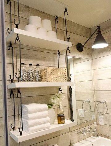 ideas para baños chicos elegantes