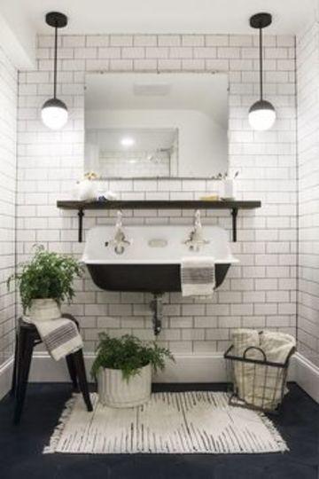 ideas para baños chicos sencillos