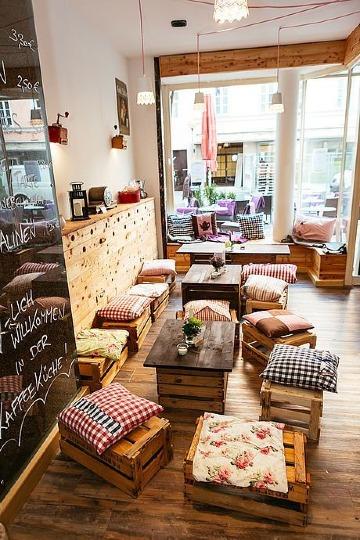 ideas para decorar una cafeteria con poco dinero
