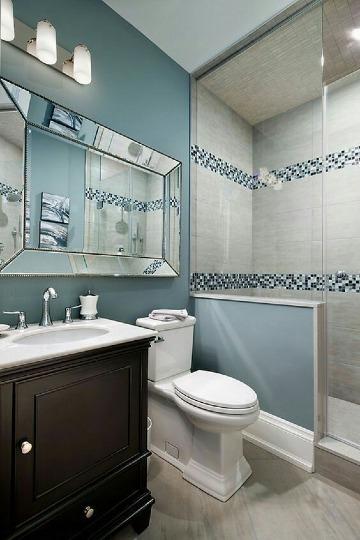 ideas para remodelar baños pequeños elegantes