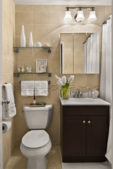 imagenes de baños en espacios pequeños
