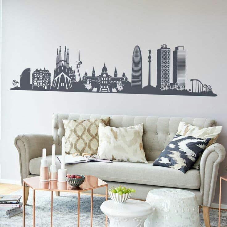 imagenes dibujos para decorar paredes de salas