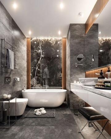 modelos de baños para casa modernos