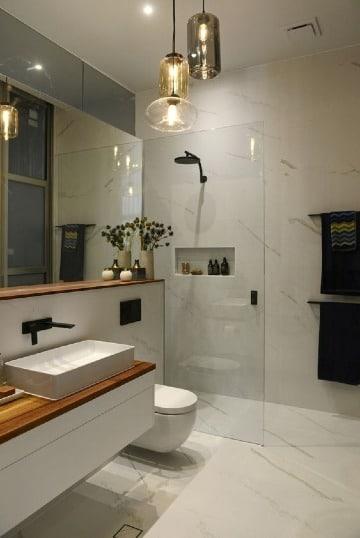 modelos de baños para casa pequeña