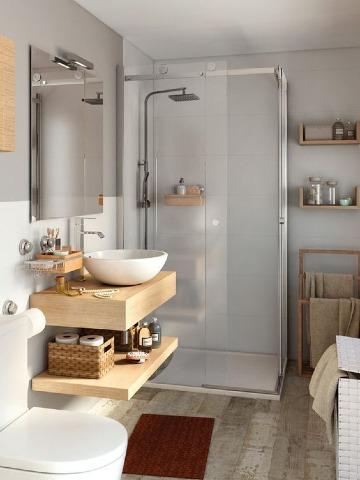 modelos de baños para casa sencillos