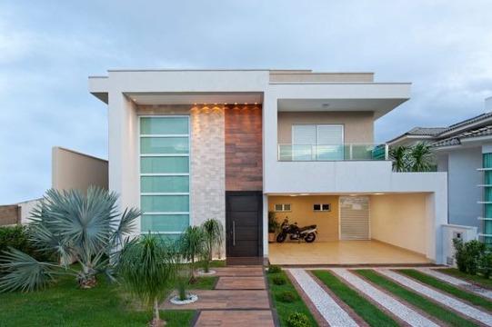 modelos de casas con terrazas pequeñas