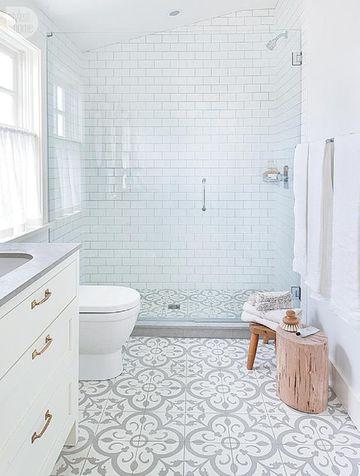 modelos de cuartos de baño sencillo