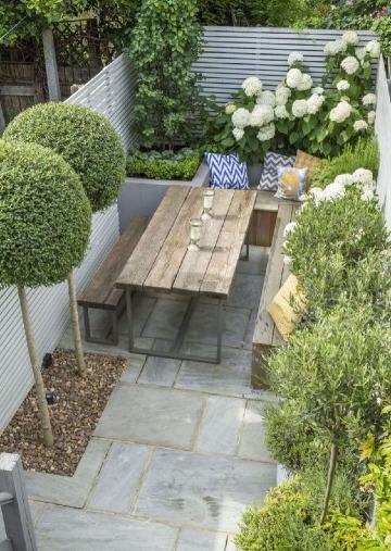 modelos de jardines pequeños exteriores